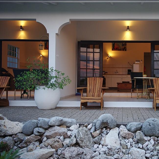 Bantopa Apartments on Kaya kashimiri in Curaçao.