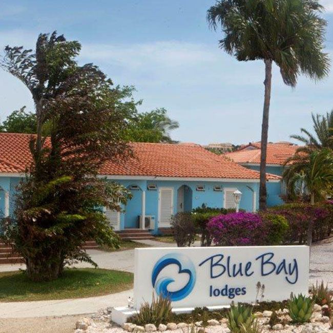 The Blue Bay Lodges Blue Bay resort Azul Residences in Curaçao.