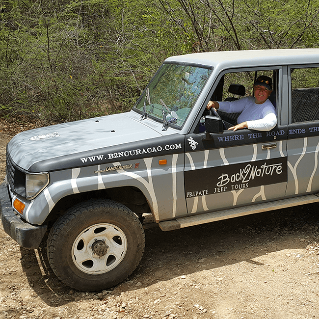 Back2Nature Private Jeep Tours Curacao are 100% customized.